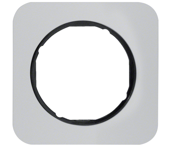 R.1 Ramka 1-krotna, alu/czarny Berker 10112184