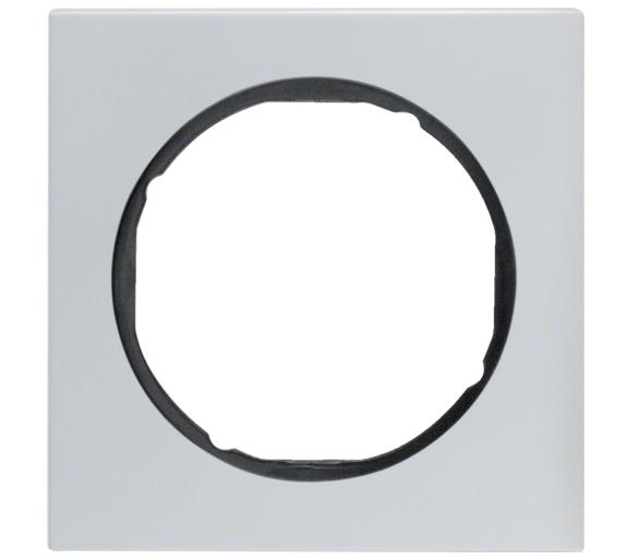 R.3 Ramka 1-krotna, alu/czarny Berker 10112284