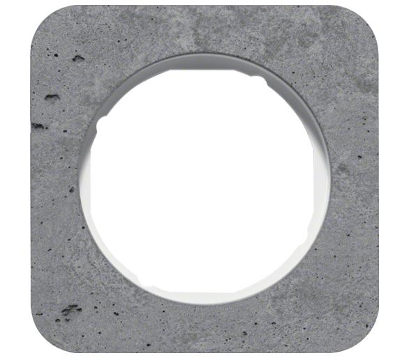 R.1 Ramka 1-krotna, beton/biały Berker 10112379