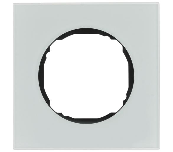 R.8 Ramka 1-krotna, szkło, biały Berker 10112609