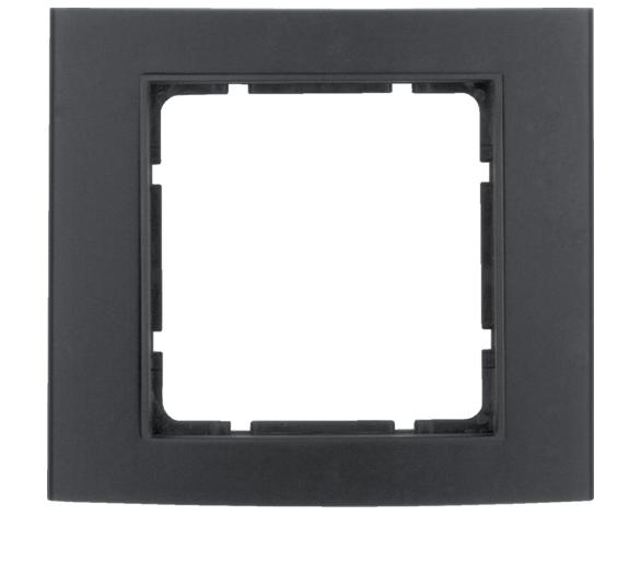 B.3 Ramka 1-krotna, alu, czarny/antracyt Berker 10113005