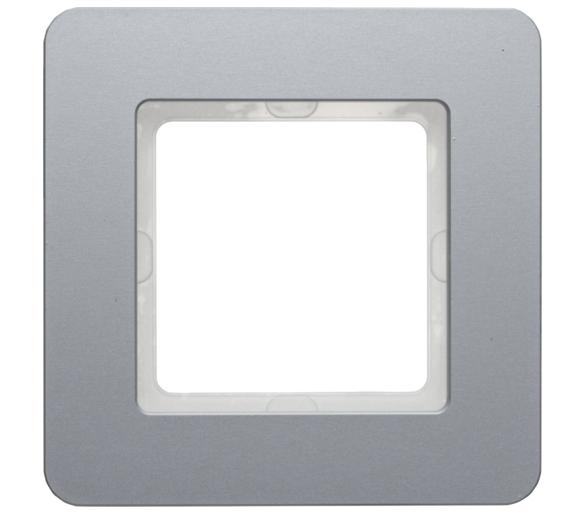 Q.7 Ramka 1-krotna, aluminium Berker 10116074