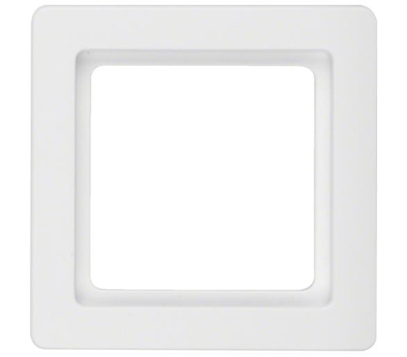 Q.1 Ramka 1-krotna, biały, aksamit Berker 10116089