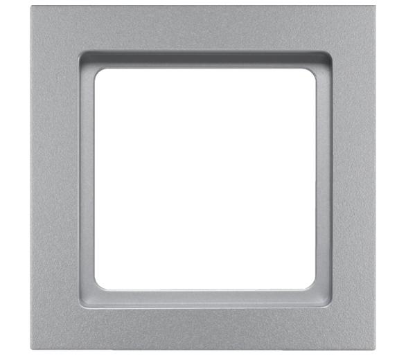 Q.3 Ramka 1-krotna, alu aksamit, lakierowany Berker 10116094