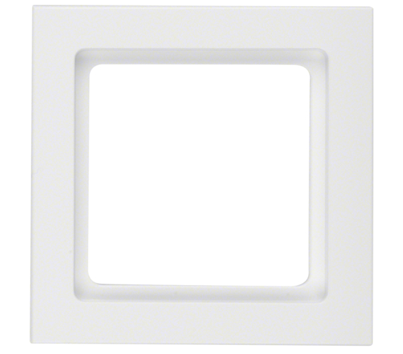 Q.3 Ramka 1-krotna biały, aksamit Berker 10116099