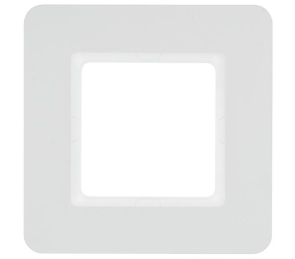 Q.7 Ramka 1-krotna, biały aksamit, lakierowany Berker 10116189