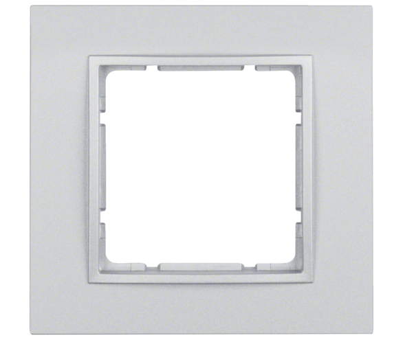 B.7 Ramka 1-krotna, alu, mat Berker 10116424