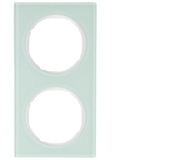 R.3 Ramka 2-krotna, szkło, biały Berker 10122209