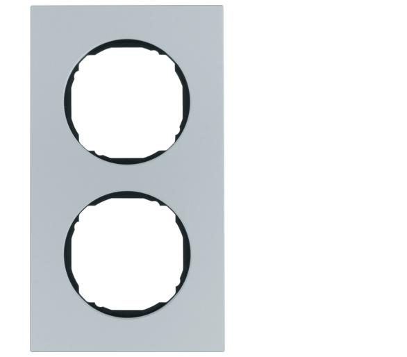 R.8 Ramka 2-krotna, aluminium Berker 10122674
