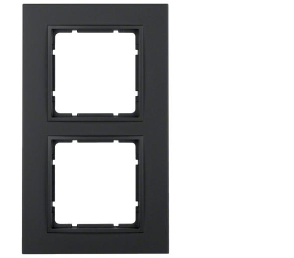 B.7 Ramka 2-krotna, antracyt, mat Berker 10126626