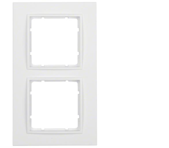 B.7 Ramka 2-krotna, biały, mat Berker 10126919
