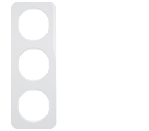 R.1 Ramka 3-krotna, biały, połysk Berker 10132189