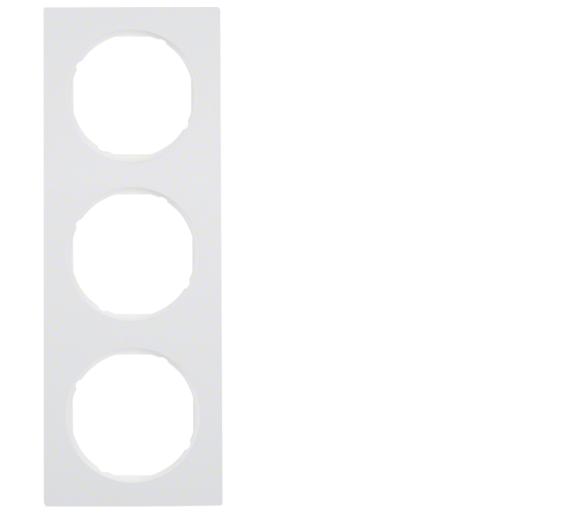 R.3 Ramka 3-krotna, biały, połysk Berker 10132289
