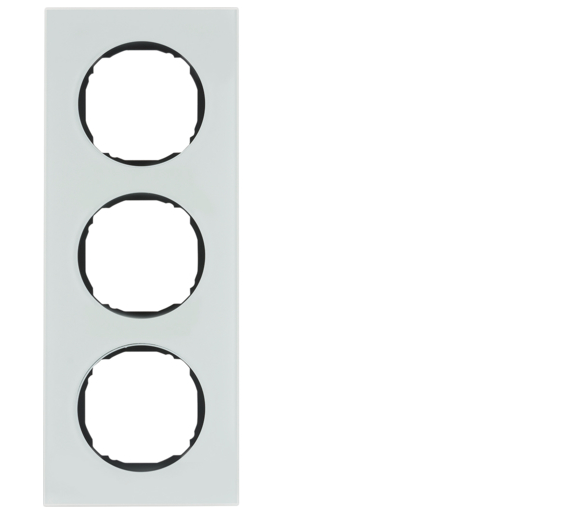 R.8 Ramka 3-krotna, szkło, biały Berker 10132609