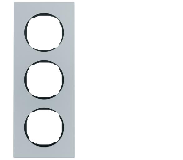 R.8 Ramka 3-krotna, aluminium Berker 10132674