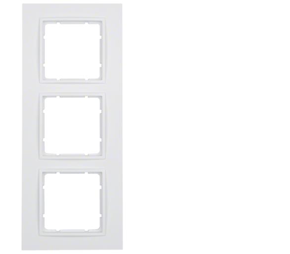 B.7 Ramka 3-krotna, biały, mat Berker 10136919