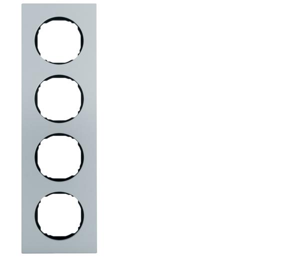R.8 Ramka 4-krotna, aluminium Berker 10142674