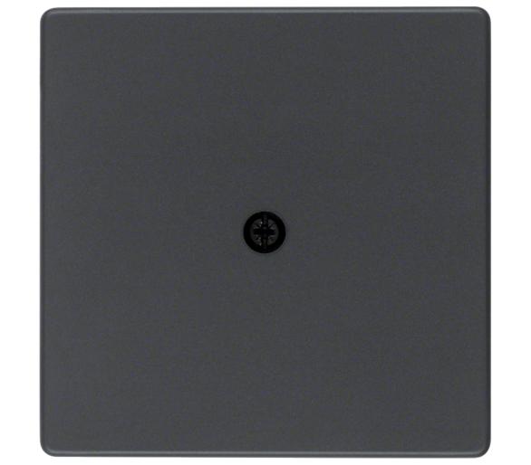 Q.x Płytka czołowa do przyłącza kablowego, antracyt aksamit, lakierowany Berker 10196086