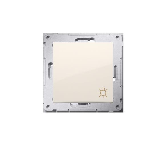 """Przycisk """"światło"""" (moduł) 16AX 250V, zaciski śrubowe, kremowy DS1A.01/41"""