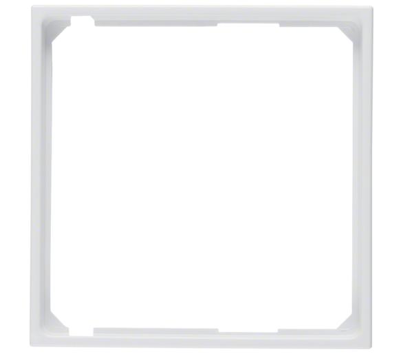 S.1/B.3/B.7 Pierścień oddzielający do płytki czołowej biały Berker 11091909