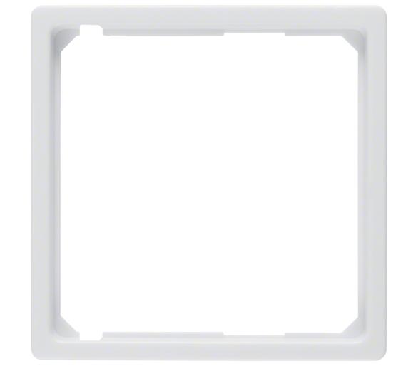 Q.x Pierścień oddzielający do płytki czołowej biały, aks Berker 11096089