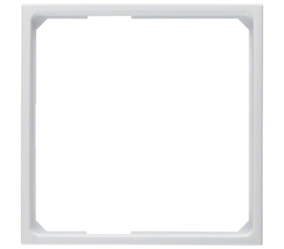 B.X/S.1 Pierścień adaptacyjny do płytek czołowych 50x50 mm, biały Berker 11099089