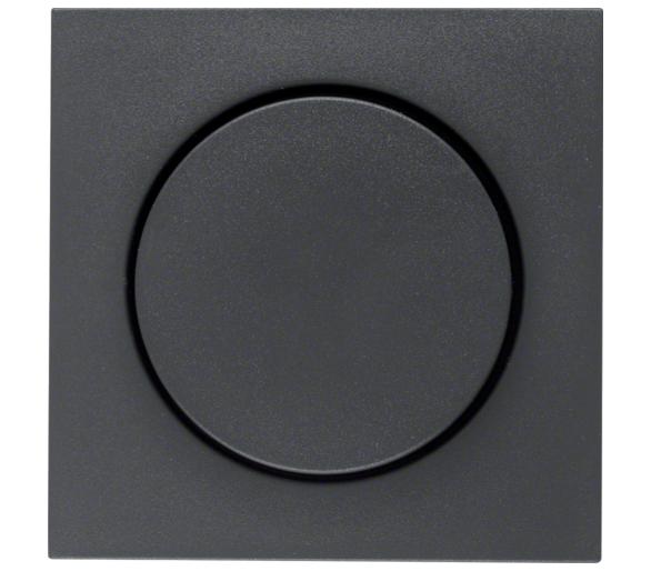 B.X Płytka czoł. pokręt. reg. do ściemniacza obrotowego, ant mat Berker 11371606