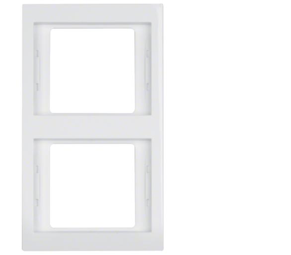 K.1 Ramka 2-krotna pionowa, biały, połysk Berker 13237009