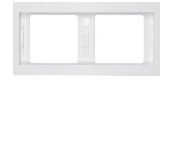 K.1 Ramka 2-krotna pozioma, biały, połysk Berker 13637009
