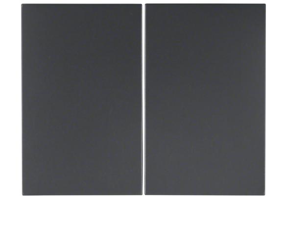 K.1 Klawisze do łącznika 2-klawiszowego, ant mat, lak Berker 14357006