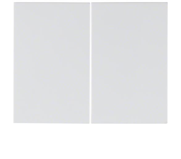 K.1 Klawisze do łącznika 2-klawiszowego biały Berker 14357009
