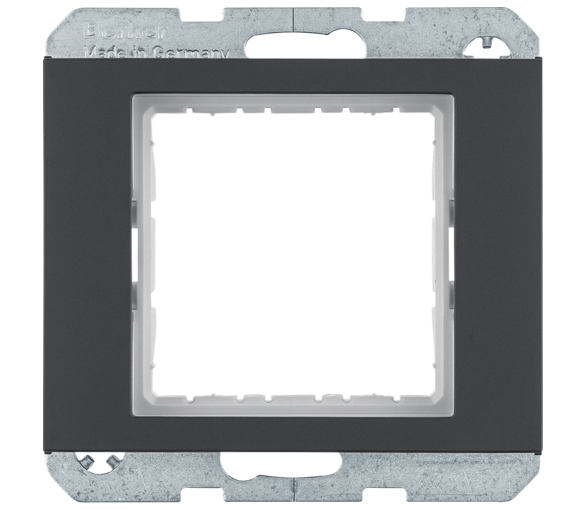 K.1 Zestaw adaptacyjny do modułów systo 45x45mm, antracyt, mat Berker 14407006