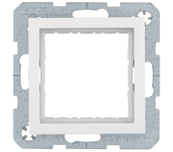 B.Kwadrat Zestaw adaptacyjny do modułów systo 45x45 mm, biały Berker 14408989
