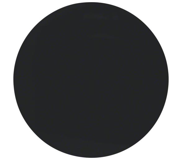 R.1/R.3 Klawisz do łącznika 1-klawiszowego, czarny, połysk Berker 16202045
