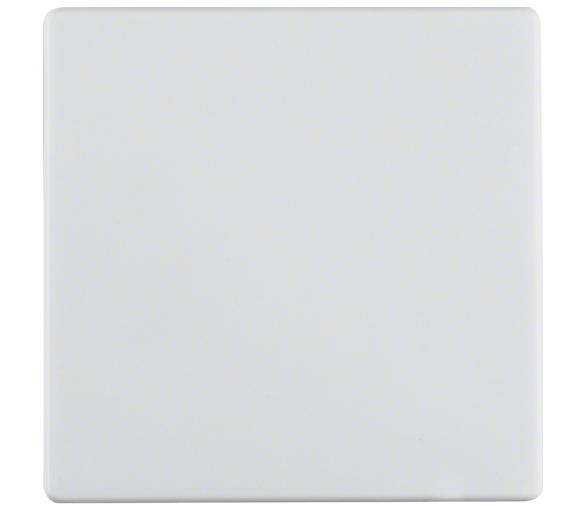 Q.x Klawisz do łącznika 1-klawiszowego, biały, aksamit Berker 16206089