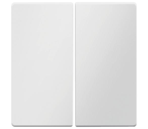 Q.x Klawisze łącz. 2-kl., para, biały, aks Berker 16236089