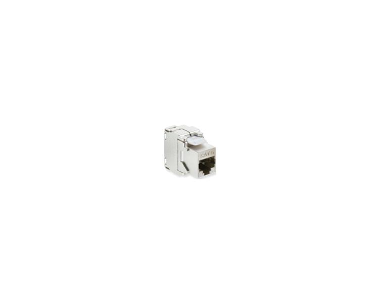 Wkład gniazda komputerowego RJ45 kat.6, ekranowany (STP) stal nierdzewna LRJ456EKR