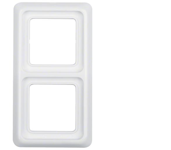 IP44 Ramka 2-krotna z uszczelką biały Berker 53132909