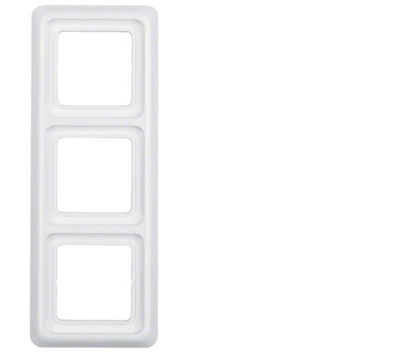 IP44 Ramka 3-krotna z uszczelką biały Berker 53133009