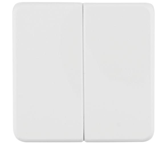 IP44 Klawisze do łącznika 2-klawiszowego biały Berker 53155299
