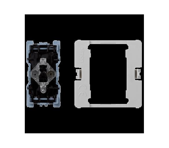 Łącznik uniwersalny (pojedynczy, schodowy) K45 (mechanizm) 16AX 250V 45×22,5mm K301