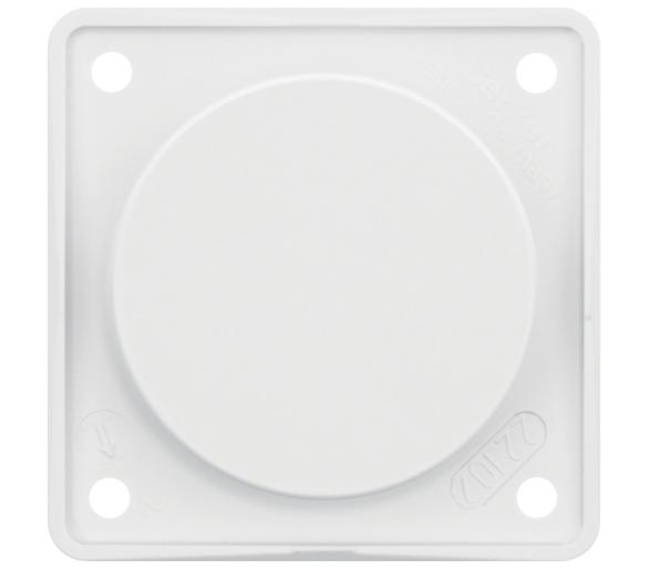 Integro Flow Zaślepka z płytką nośną biały Berker 945162509