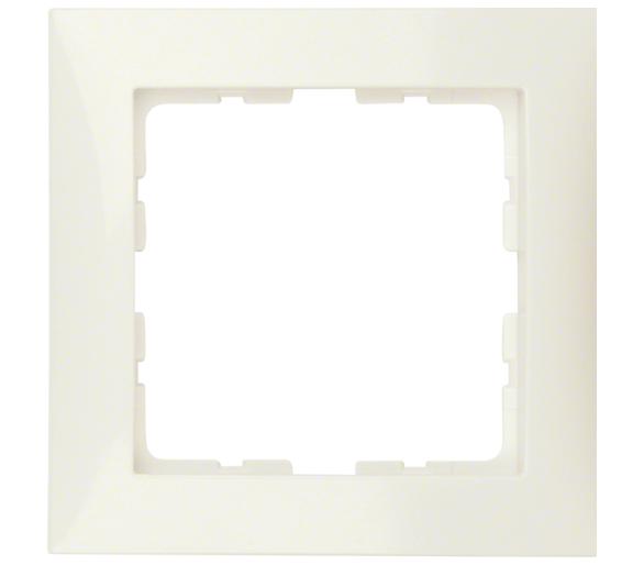 B.Kwadrat Ramka 1-krotna, krem Berker 5310118982
