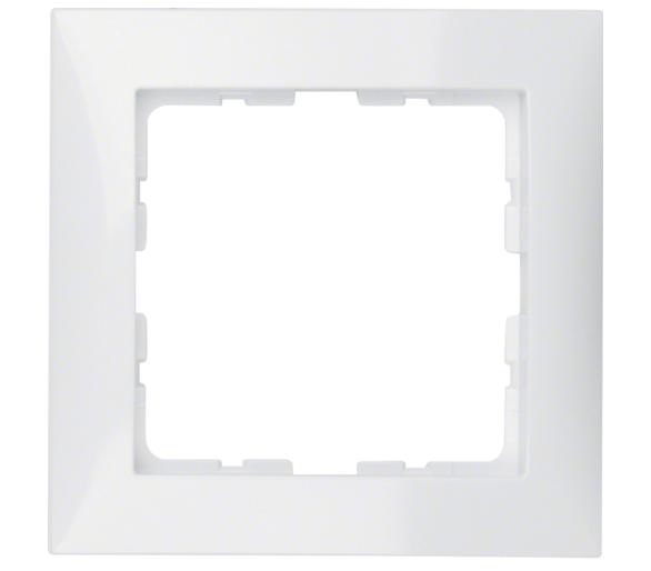 B.Kwadrat Ramka 1-krotna biały Berker 5310118989