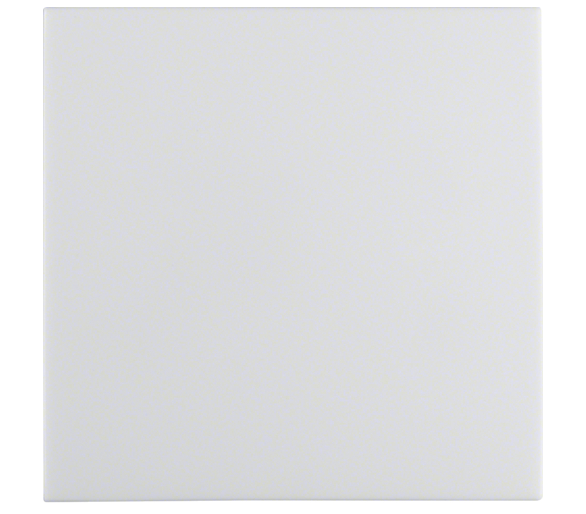 B.Kwadrat Klawisz do łączników 1-klaw. biały Berker 5316208999