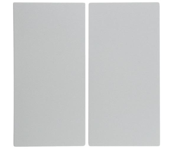 B.Kwadrat Klawisze do łącz. 2-klawiszowych biały Berker 5316238999