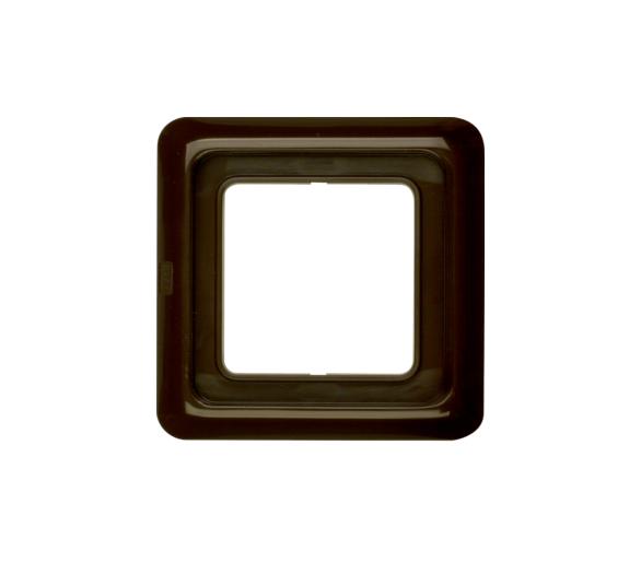 IP44 Ramka 1-krotna z uszczelką, brązowy, p/t Berker 132801