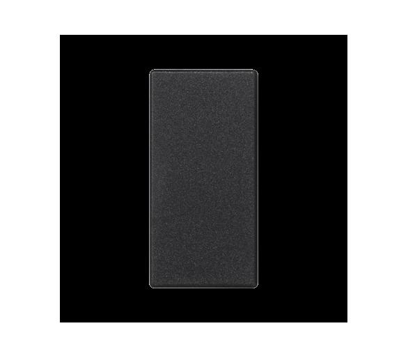 Zaślepka K45 45×22,5mm szary grafit K105/14