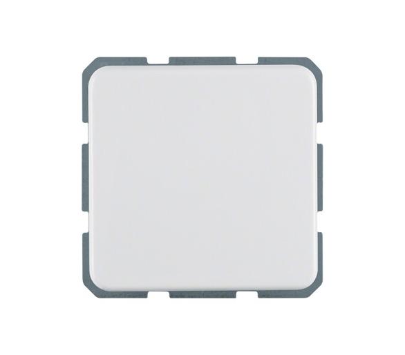 IP44 Gniazdo SCHUKO z pokrywą z podwyższoną ochroną styków, biały, p/t Berker 471609