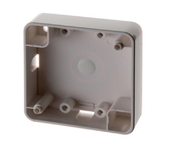Integro Puszka natynkowa 1-krotna płaska, biały, połysk Berker 9115229